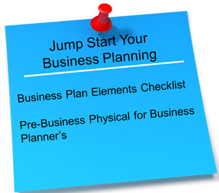 Jump Start Your Business Plan click here to get started